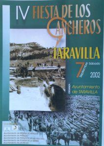 Cartel De La Primera Fiesta Gancheros Celebrada Taravilla