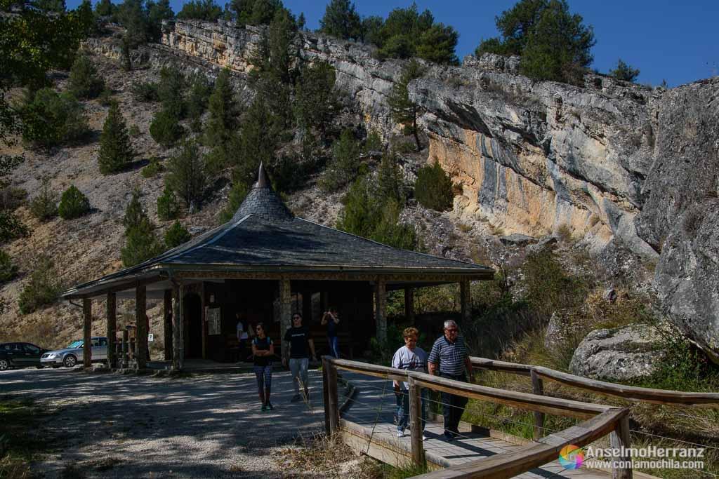 Caseta de Acceso al itinerario de La Fuentona - Soria