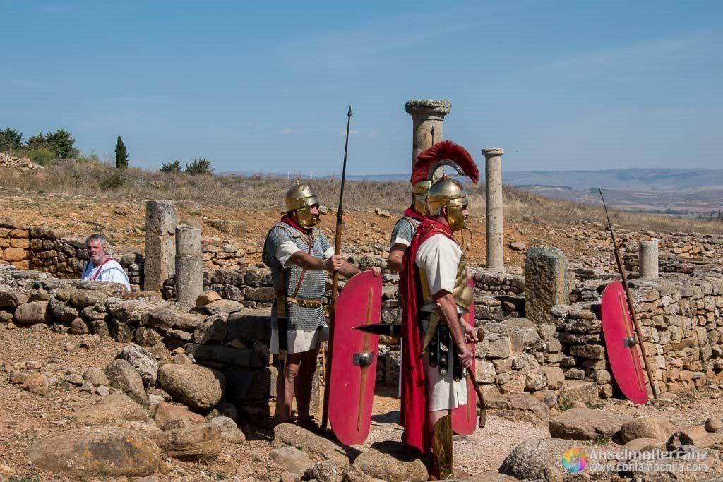 Guerreros Romanos en Numancia