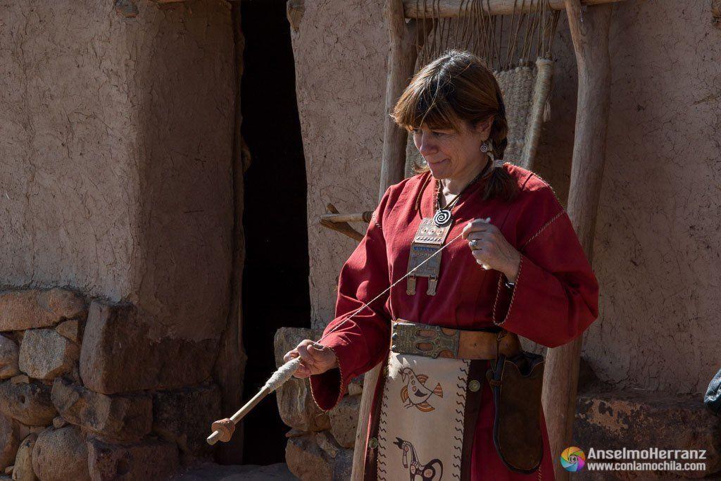 Hilando la lana en Numancia