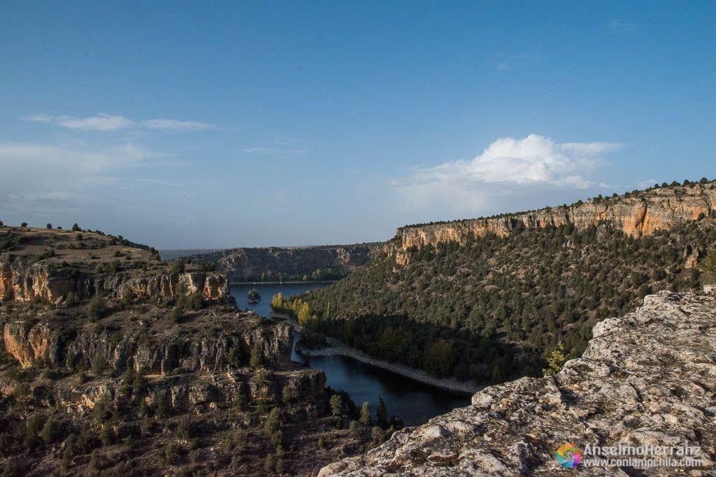Hoces del Rio Duraton desde la ermita de San Frutos - Segovia