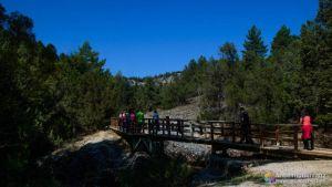 Puente Sobre El Riachuelo de la Cascada de la Fuentona - Soria