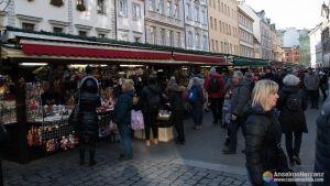 Mercado de Navidad de Havelsketrziste - Praga