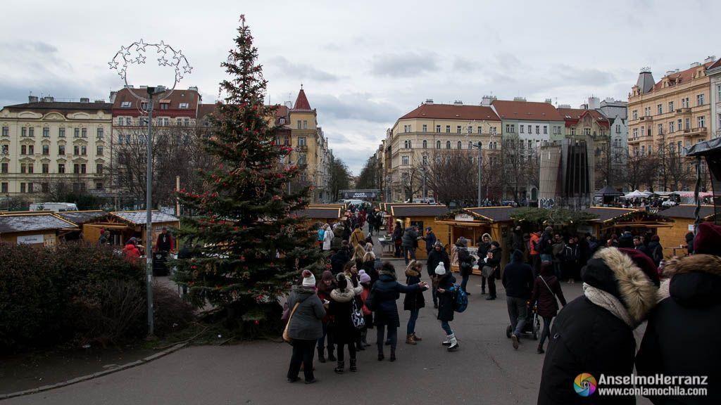 Mercado de Navidad de Jiriho z Padebrad - Praga