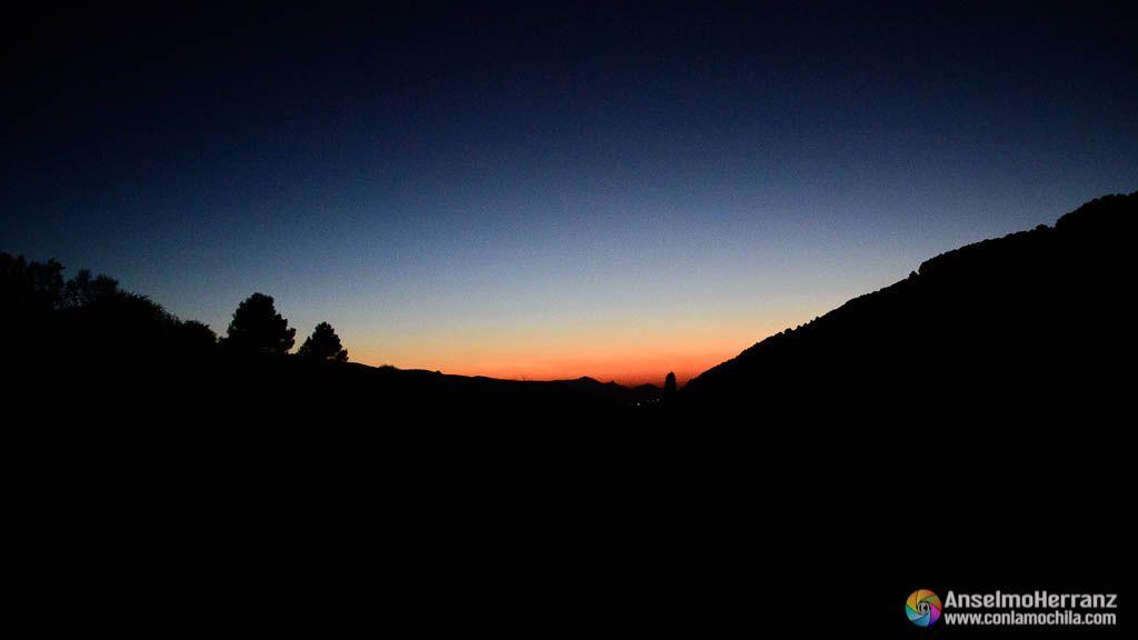 Puesta de Sol en Sierra Mágina - Jaén