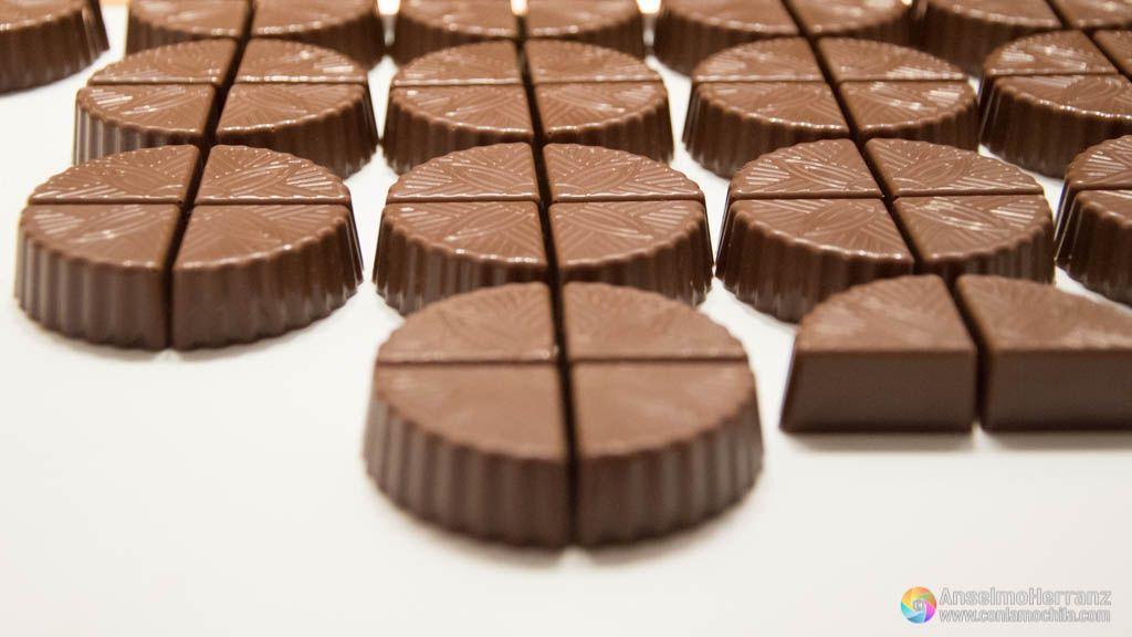 Bombones de chocolate - Maison Cailler - Broc - Suiza