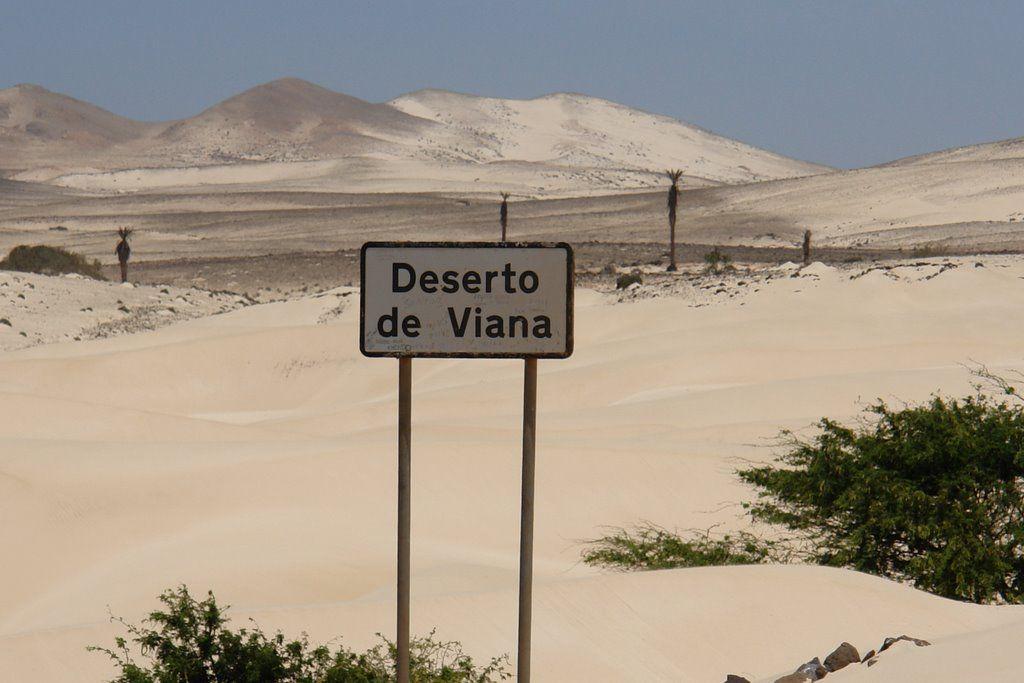 Deserto de Viana - Boa Vista - Cabo Verde
