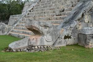 Serpiente Emplumada - Chichen Itzá. Foto: edtribo