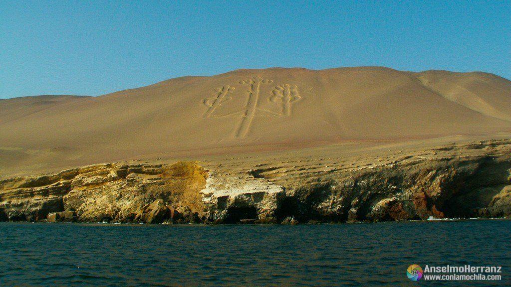 El Candelabro - Península de Paracas - Ica - Perú