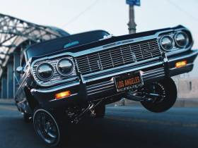 Coche en Los Ángeles | Foto: StockSnap