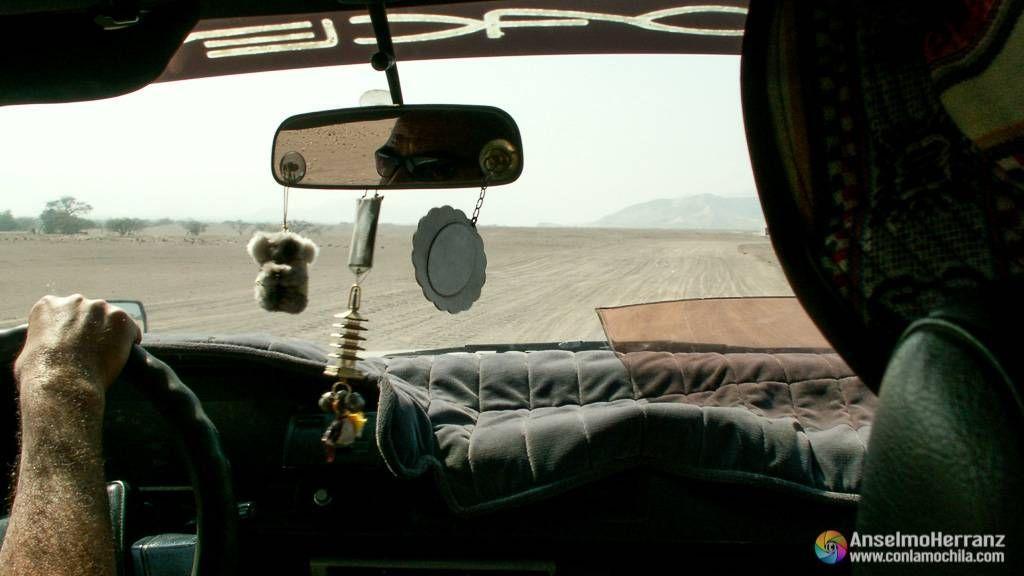 De camino hacia Chauchilla - Nazca - Ica - Perú