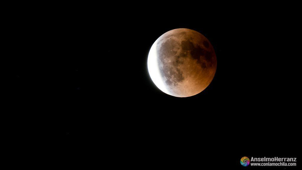 Elipse Total de Luna - Segovia - Julio de 2018