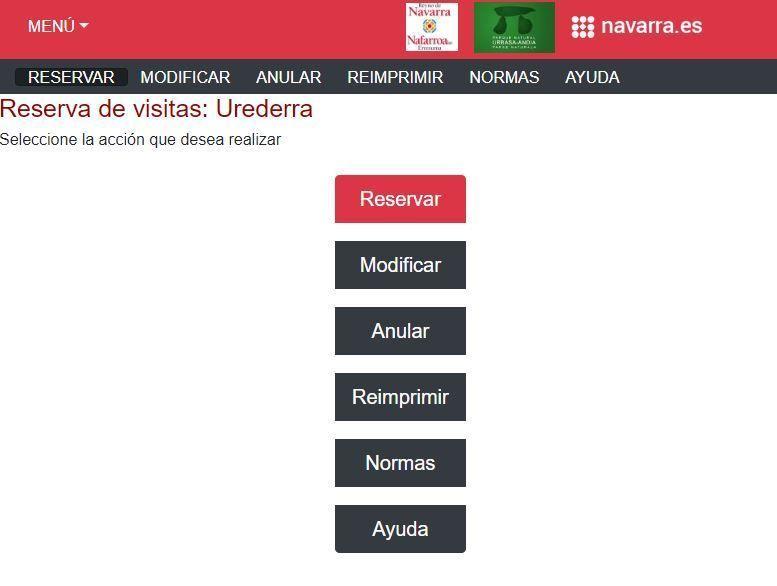 Solicitud Permiso de Acceso al Nacedero del Urederra - Navarra