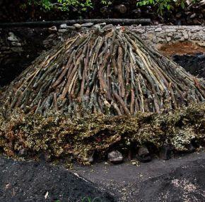 Viloria, visita al pueblo de las carboneras de la sierra de Urbasa