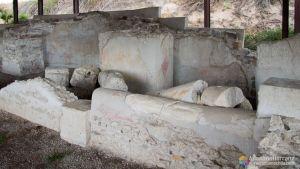 Yacimiento Romano de los Cinco Canos - Coca - Segovia