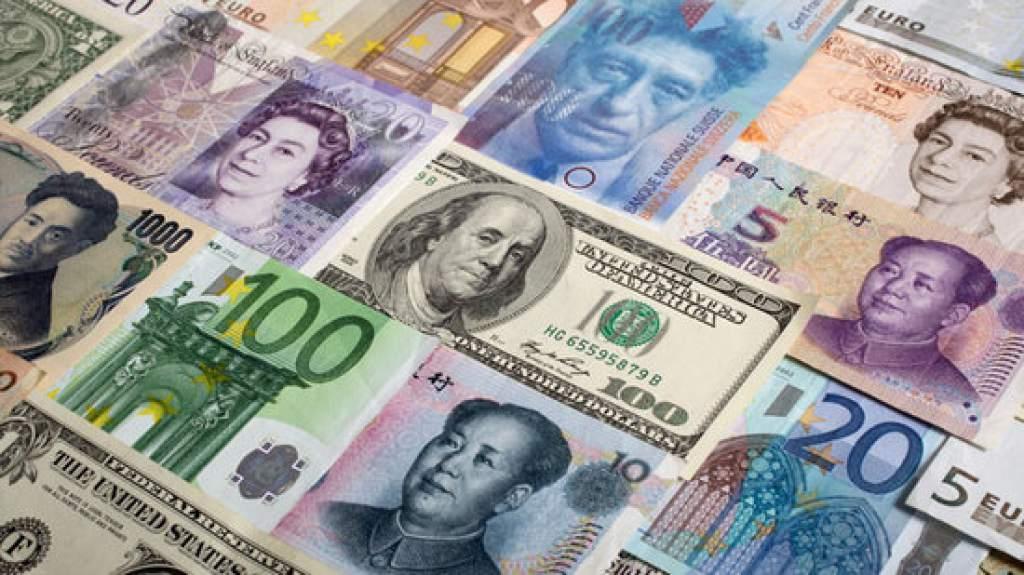 Billetes de distintos países