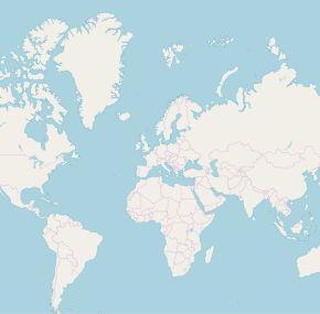 Mapas OpenStreetMap (OSM) para Garmin por continentes