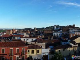 Vistas de la ciudad de Cáceres - Extremadura - España