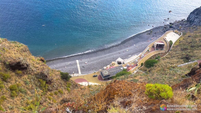 Playa de Cristo Rei - Garajau - Caniço