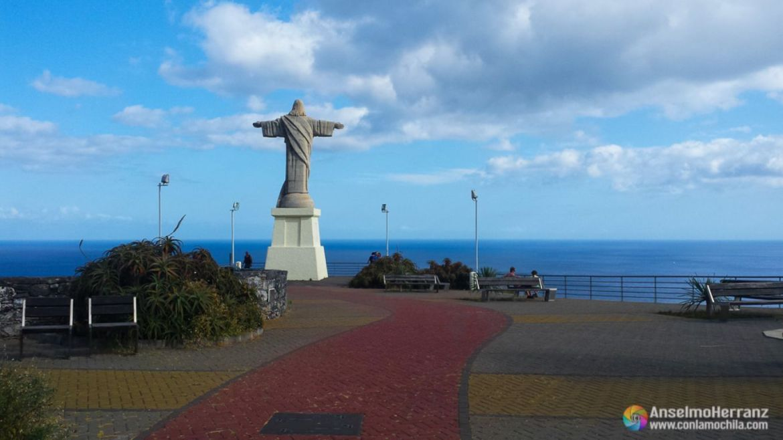 Estatua de Cristo Rey - Garajau - Caniço - Madeira