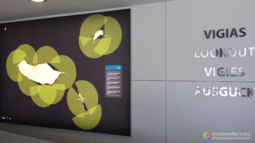 Puntos de vigilancia - Museo de la Ballena de Madeira - Caniçal