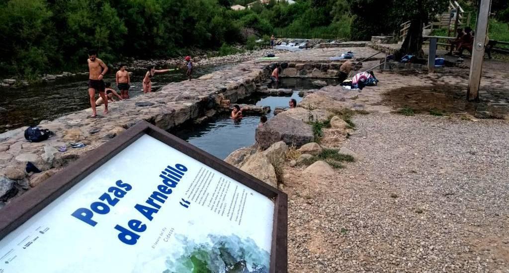 Pozas de Arnedillo - Aguas termales gratuitas de La Rioja