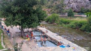Pozas de aguas termales de Arnedillo - La Rioja