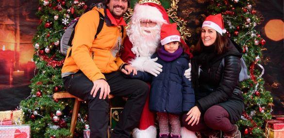 Ver a Papá Noel – Objetivo navideño del fin de semana en Montreux con toda la familia- Suiza.