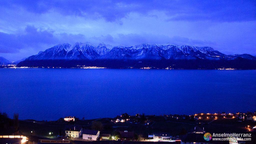 Vistas del Lago Lemán desde el hotel - Chexbres - Suiza