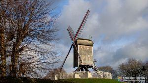Molinos de Viento de Brujas - Flandes - Bélgica