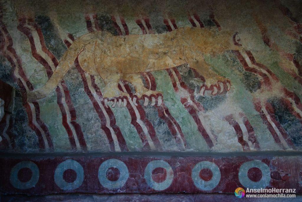 Mural Del Puma - Teotihuacán - México
