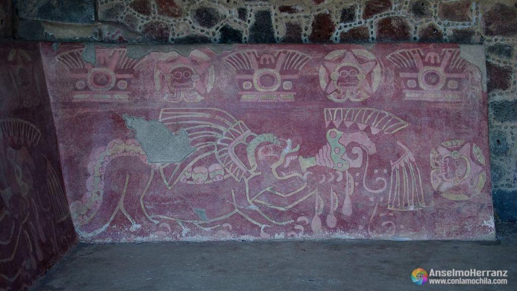 Mural de Jaguares - Teotihuacán - México