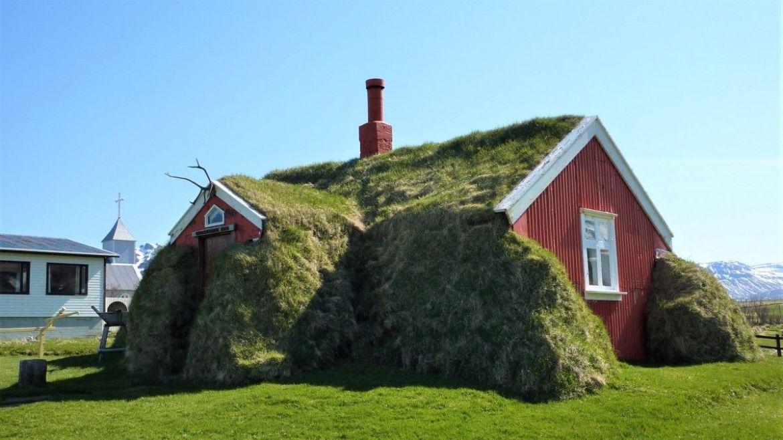 Casa de cesped de Lindarbakki