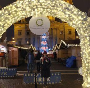 Los mercados de Navidad de Budapest.