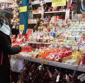 Visita al mercado central de Budapest.