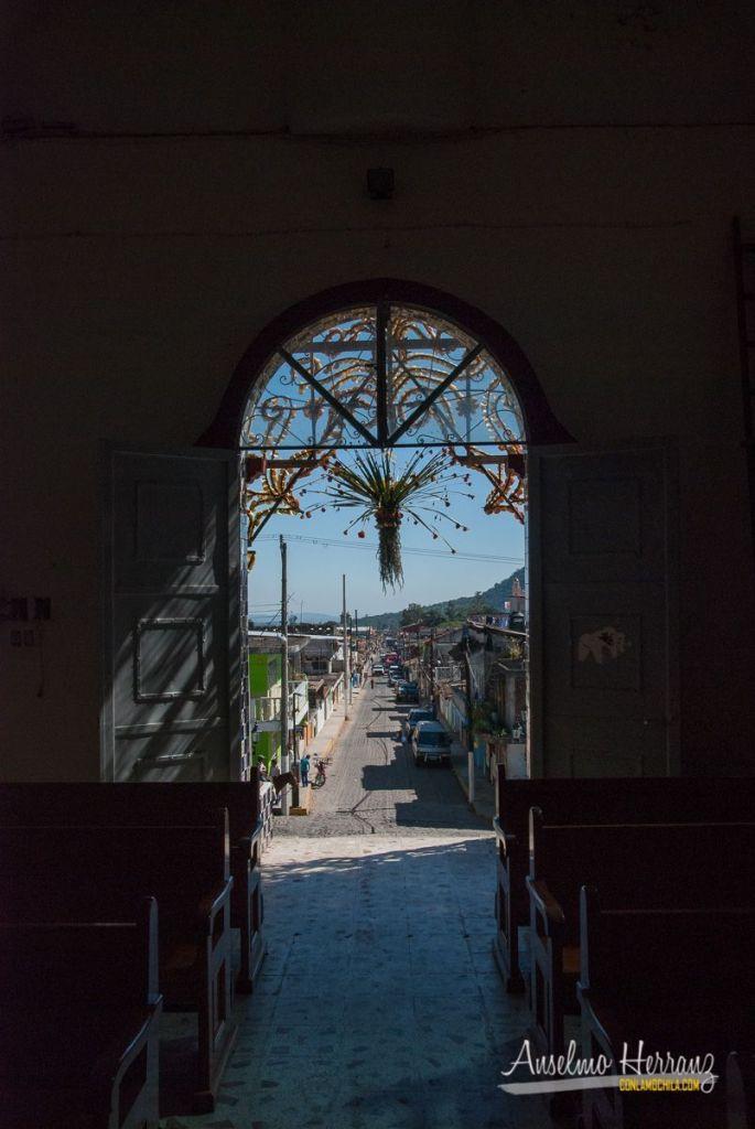 Capilla de Cristo Rey - Vistas hacia el exterior - Xico