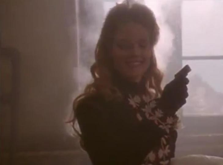 Jodie Foster en Maverick con una Sharp Pepperbox cal .32 rimfire.