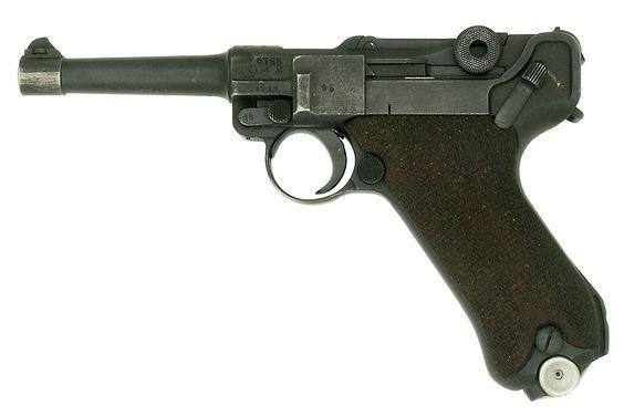 Luger P08 clásica