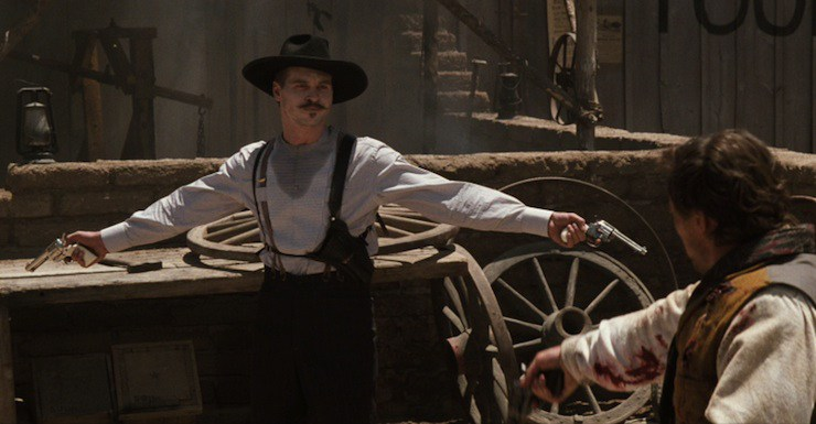 doc holliday, revóveres a dos manos, chungo que flipas.