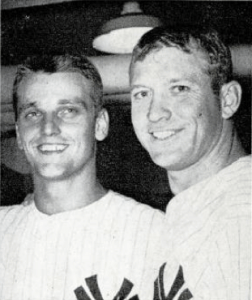 Roger Maris and Mickey Mantle