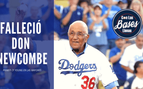 Falleció Don Newcombe, primer Cy Young en las mayores.