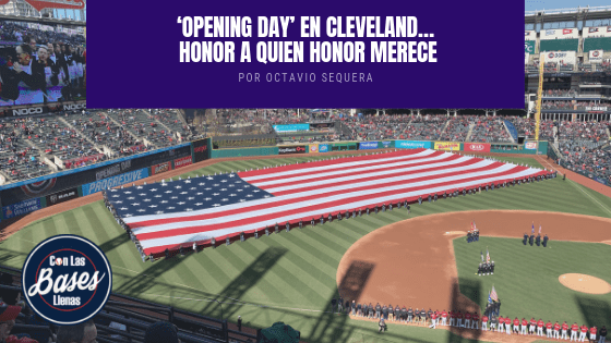 'Opening Day' en Cleveland 2019