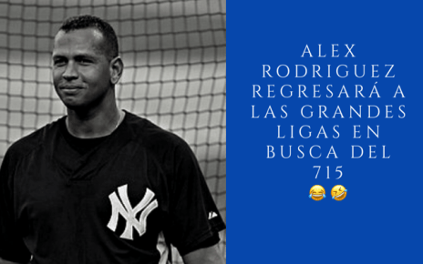 Alex Rodriguez April's Fool