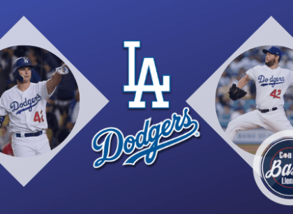 Kershaw brilliant, Pederson wins it on #42 night