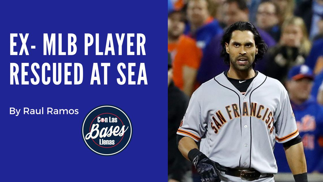 EX MLB player rescued at Sea
