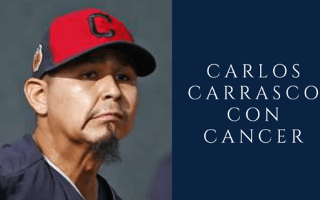 Carlos Carrasco con Cancer