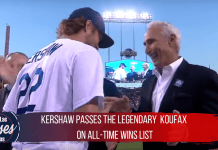 Clayton Kershaw passes the legendary Koufax on all-time wins list