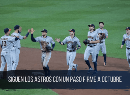 Astros de Houston ganan