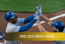 Jorge Soler empata record de home runs para Kansas City Royals