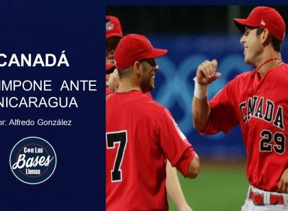 CANADÁ SE IMPONE ANTE NICARAGUA